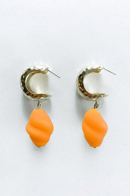 Crescioni Alma Earrings - orange