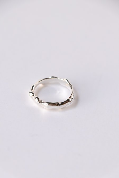 Faris Lava Band - Sterling Silver