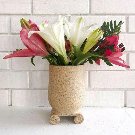 Objet Aimée Cloche Vase - natural
