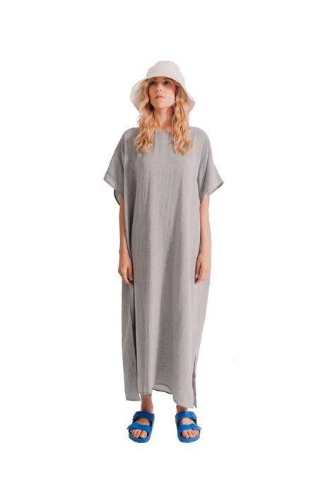 loom.ist Sile Caftan Dress - Grey