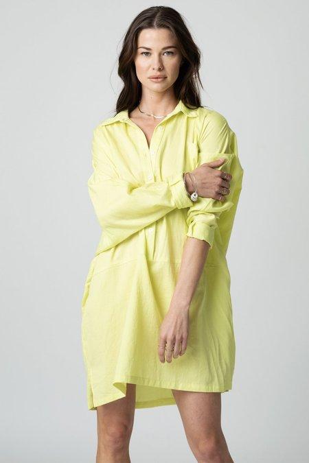 Stillwater The Shirting Mini dress - Citron