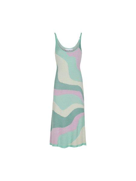 House of Sunny Hockney Dress - multi