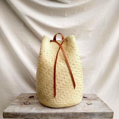 Hecho and Co Palm Backpack - Natural