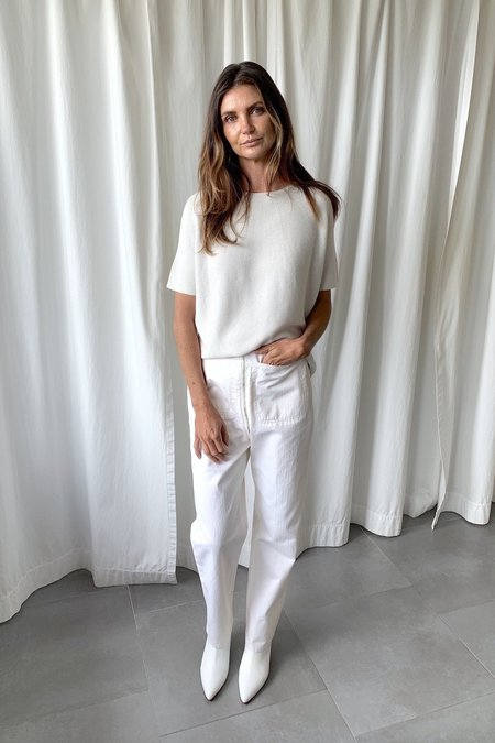 Christian Wijnants Karim knit top - Off White