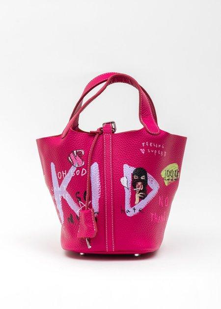 Guernika Paint Cube Bag - Fusha Pink