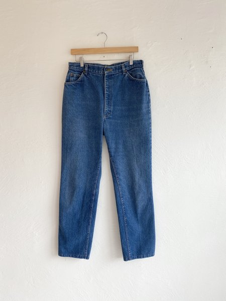 Vintage Lee Medium Wash Denim - blue