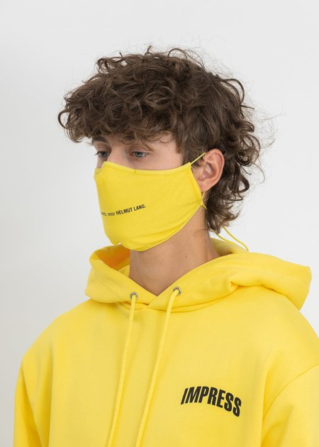 Helmut Lang Impress Mask - Laser Yellow