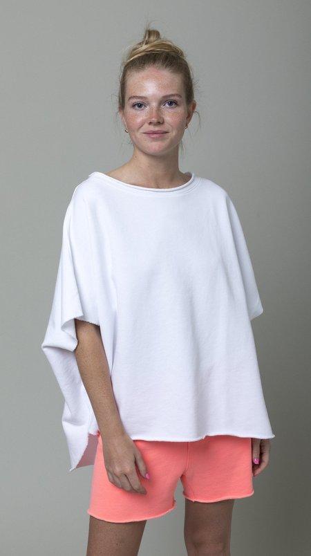 Tee Lab Capelet - White