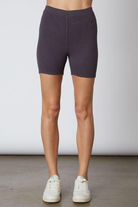 NIA Smoke Soft Hacci Bike Shorts