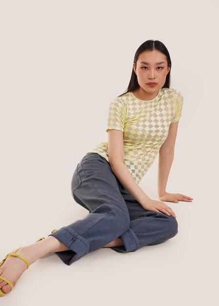 Baserange Omo Tee - Hewa Yellow
