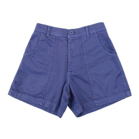 unisex Jungmaven Venice Shorts - Lavender Violet
