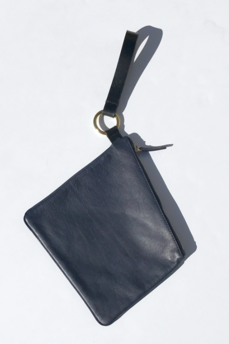 Otaat / Meyers Collective Square Pouch in Navy