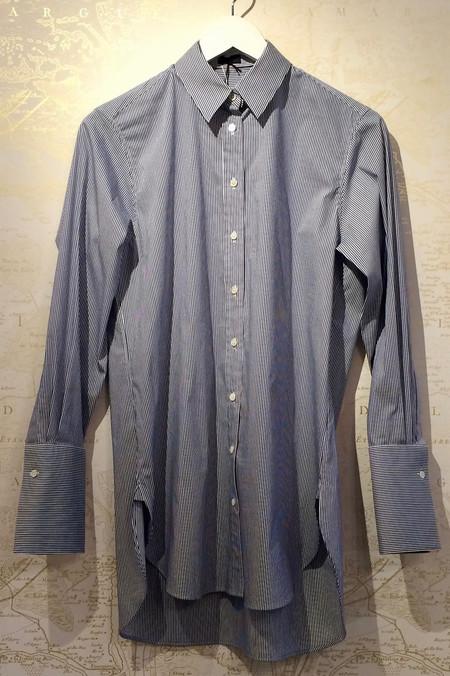 Joseph 'Emile' Cotton Stretch Stripe Shirt