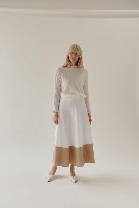 Mina Gwyn Skirt - White