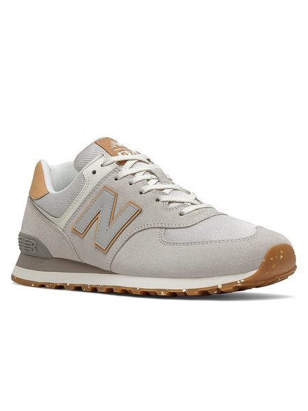 New Balance 574 shoes - Rain Cloud/Maple