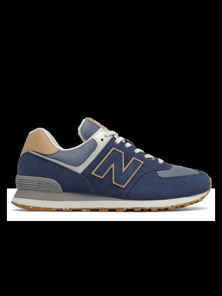 New Balance 574 shoes - Natural Indigo/Maple