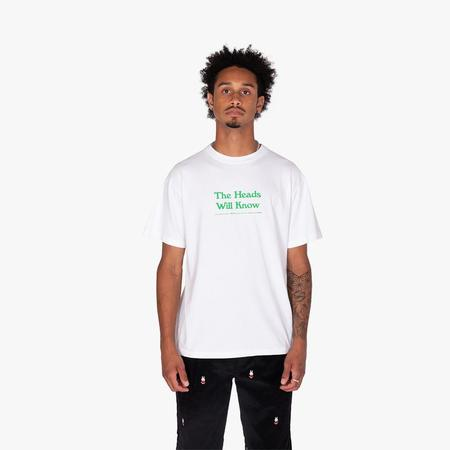 Mister Green The Heads Will Know T-shirt - White