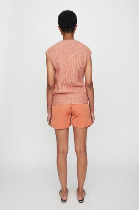 Just Female Lytt Knit Vest - Ginger Spice