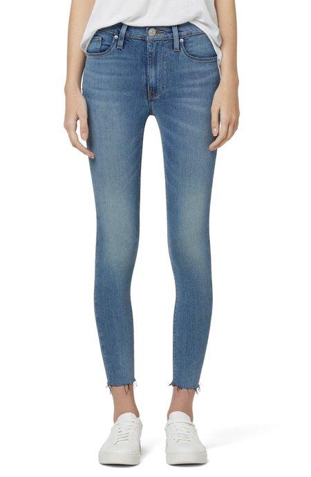 Hudson Jeans Barbara High-Rise Super Skinny Ankle Jean - Starboard