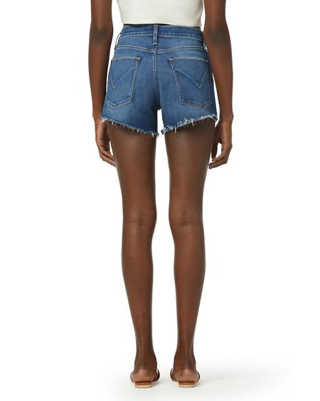 Hudson Jeans Gemma Mid-rise Cut-off Short - Visions