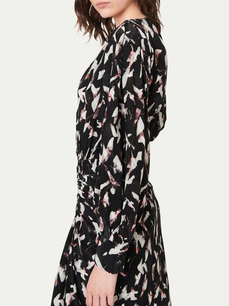IRO Carola Dress - Black/Ecru