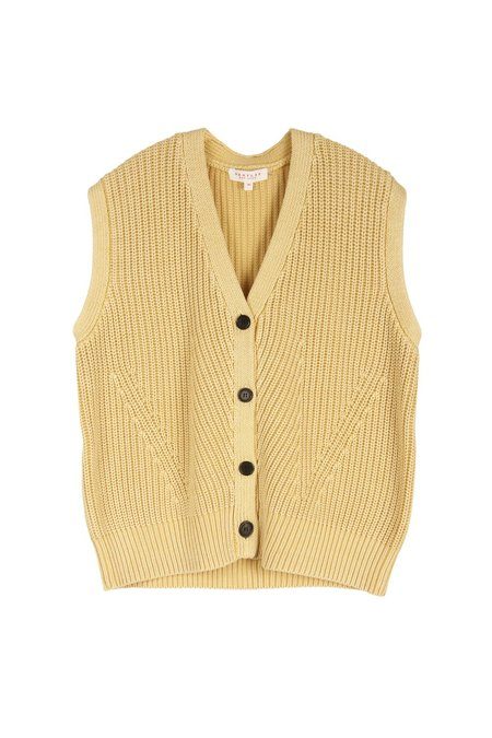 DDemy Lee orothee Vest - Hay Yellow