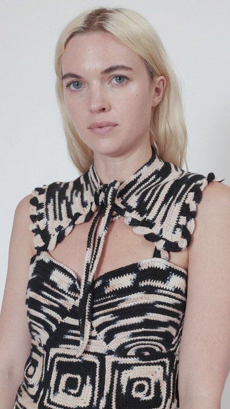 Ulla Johnson Amora Collar - Zebra