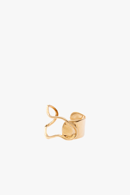 Odette New York Miro Ring in Brass