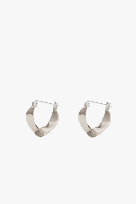 Odette New York Wishbone Earrings in Sterling Silver