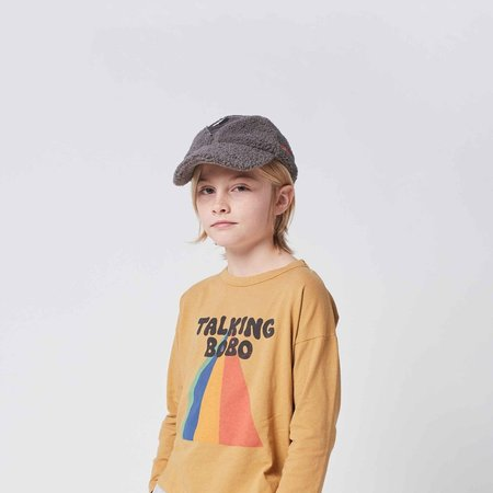 Kids Bobo Choses Talking Bobo Rainbow Long Sleeve T-shirt - Apple Cinnamon
