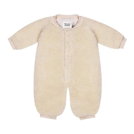kids the new society gabrielle baby onesie - natural