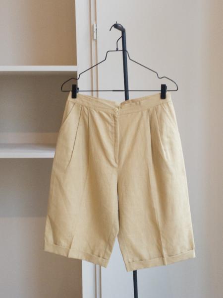 Vintage The Cotton Shorts - natural