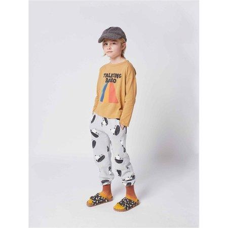 kids bobo choses doggie all over jogging pants - grey