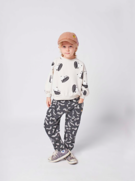 kids Bobo Choses Doggie All Over Sweatshirt - white