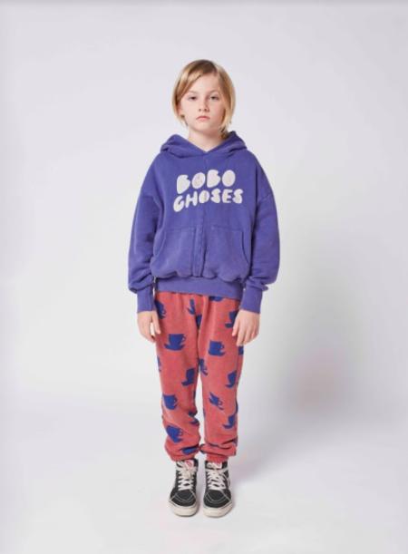 kids Bobo Choses Hoodie sweater - purple