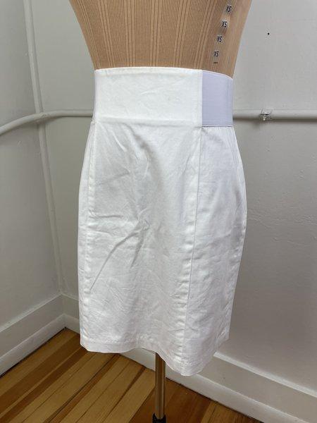 [Pre-loved] J. McLaughlin Mini Skirt - White