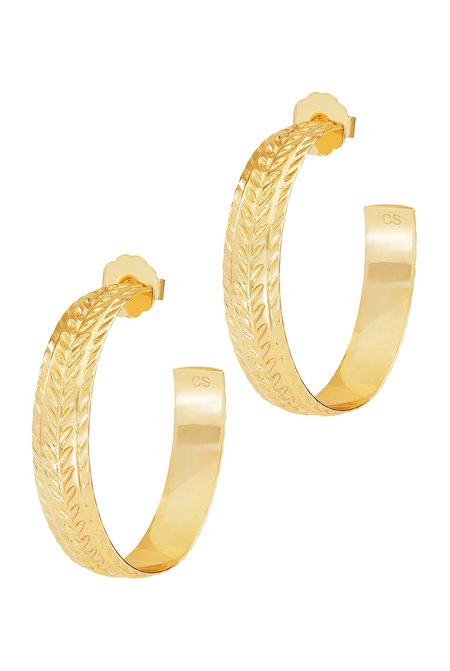 Celeste Starre The Formentera Earrings - Gold