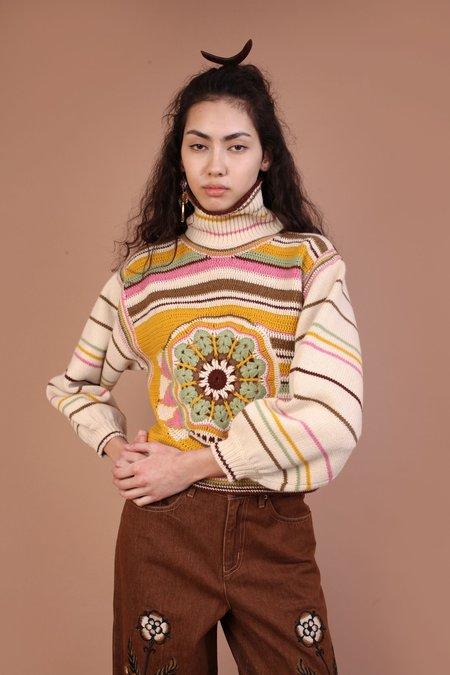 Meadows Verbena Knit Sweater - Multi
