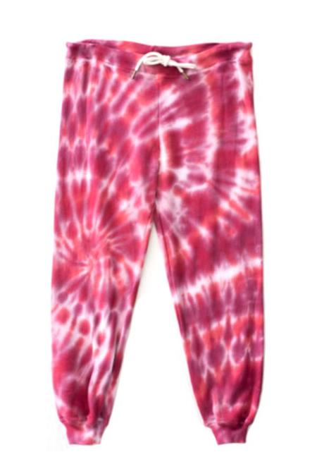 The Great. The Cropped Sweatpant - Jam Tie Dye