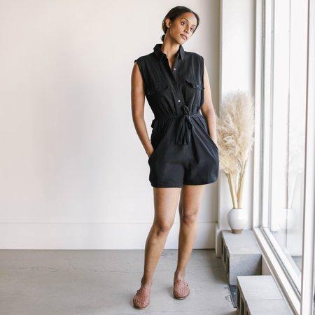 BAHHGOOSE Mari Jumpsuit - Black