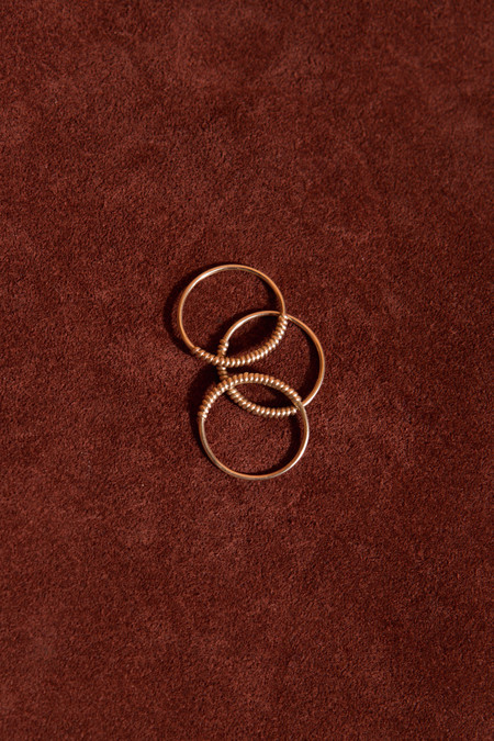 Consider The Wldflwrs Gold Twist Ring