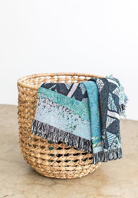 Tieble Throw Blanket