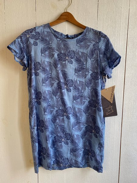 Conrado Zoe Shift Dress - Linen Print