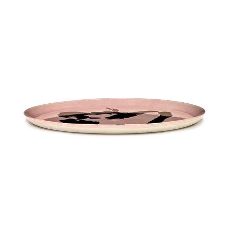 Serax Ottolenghi Feast Pepper Serving Plate - Pink/Gold