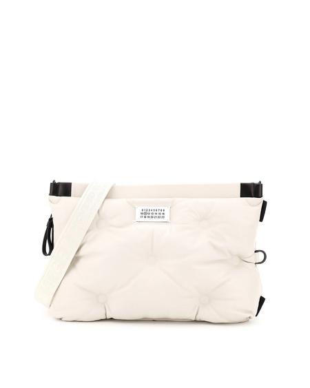 Maison Margiela Glam Slam Leather Bag -  White
