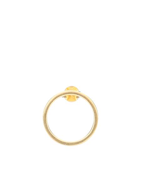 Maison Margiela logo Earring - gold
