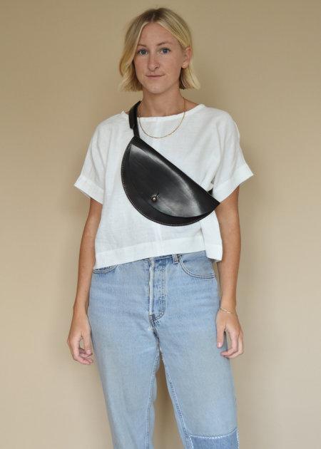 Local Shade Crossbody bag - Black Leather