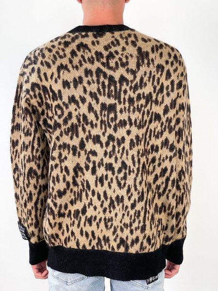 Ksubi JUNGLE CARDIGAN - leopard