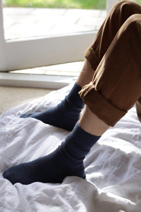 General Sleep Bed Socks - Ink