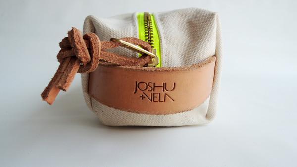 Joshu + Vela Dopp Kit - Natural